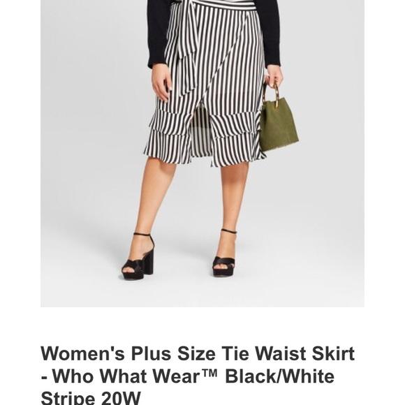 1921a7771 What Not To Wear Skirts | Tie Waist Skirt Size 20w | Poshmark